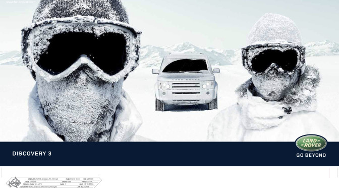 Landrover Goggles ad 2008